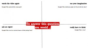 P4C Question quadrant